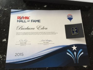 RE MAX HALL OF FAME JUNE 2015