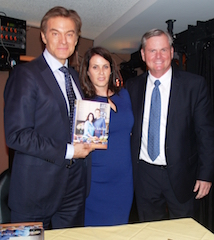 dr oz and wife at book signing in jersey city