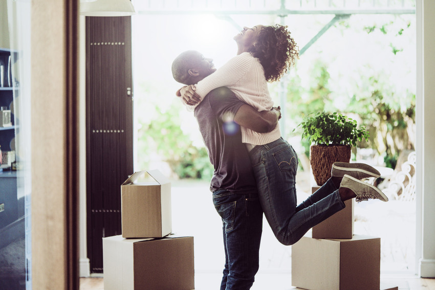 homeowners in new house